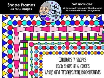 Shape Frames {Colorful Set}