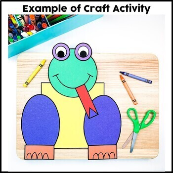 Shape Frog Cut and Paste