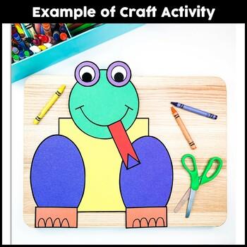 Shape Craft {Frog}