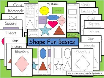 Shape Fun Basics Educational Materials