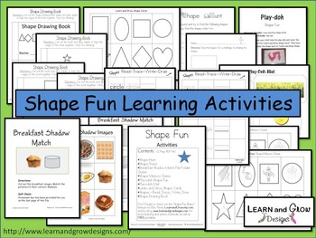 Shape Fun Learning Activities