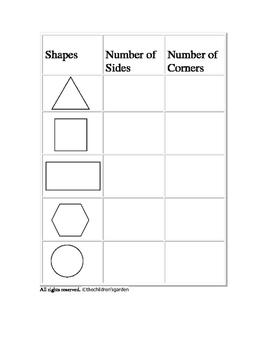 Shape Fun: Sizes and Corners