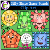 Shape Game Boards Clip Art