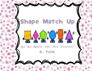 Shape Game Match Up