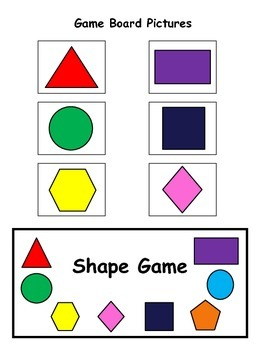Shape Game - Plane Shapes