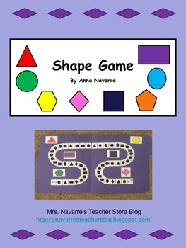 Shape Game - Plane Shapes