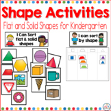 Shape Activities for Kindergarten