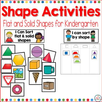 Shape Activities for Kindergarten