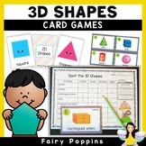 Naming 2D & 3D Shapes (Games & Worksheets)