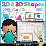 Naming 2D & 3D Shapes (Card Games)