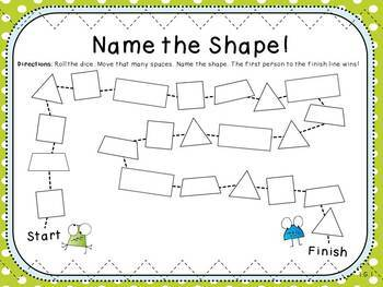 Shape Games (First Grade, 1.G.1)
