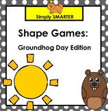 SMARTBOARD Shape Games:  Groundhog Day Edition