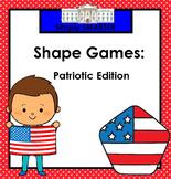SMARTBOARD America Themed Shape Games