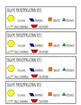 Shape Grab and Shape Identification Key