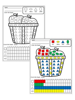 Shape Graphing Printables - 45 Graphs