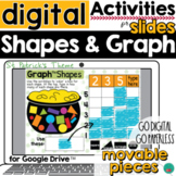 Graphing Activity for Google Slides Graphing Shapes DISTAN