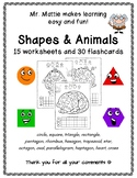 Shape Graphs Shapes Flashcards