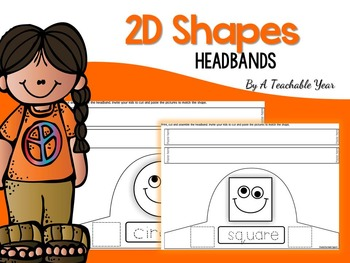 2D Shape Headbands