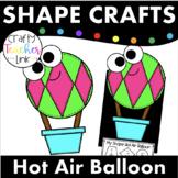 Shape Hot Air Balloon Craft