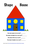 Shape House (Shape Recognition, Counting Skills, Writing Numbers)