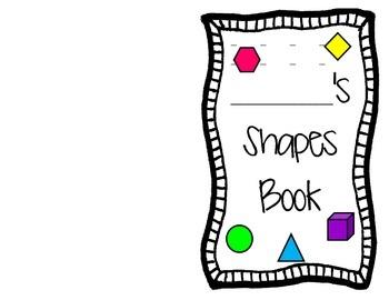 Shape Identification Activity Book (2.G.1)