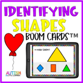 Shape Identification Boom Cards™ for Little Learners