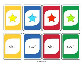 Shape Identification Card Game