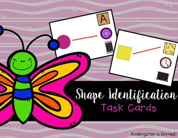 Shape Identification - Task Cards