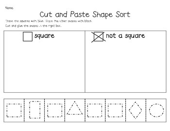 Shape Intervention Packet