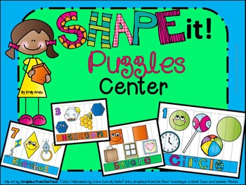 Shape It Puzzles Center
