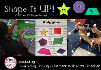 Shape It Up: 2D and 3D Shape Packet