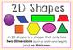 Shape It Up: 2D and 3D Shape Packet