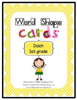 Shape-It-Up!   Dolch 1st Grade