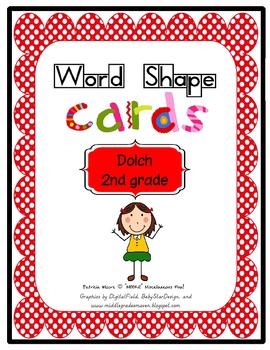Shape-It-Up!   Dolch 2nd Grade