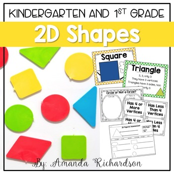 2D Shapes Unit: Activities to Identify and Describe Attributes
