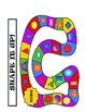Shape It Up!  Kindergarten Common Core Aligned Geometry Ga