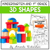 3D Shapes Unit: Activities to Identify and Describe Attributes