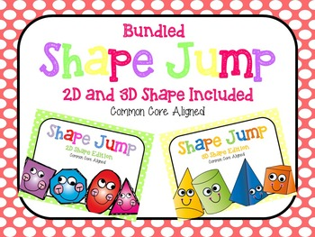 Shape Jump *Bundled 2D and 3D Editions