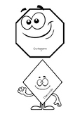 Shape Labels for Math Groups