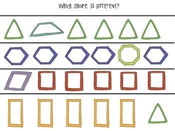 Shape Activities Pack