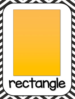 Shape, Letter, Color, and Number Classroom Posters