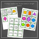 Shape Match: An April Math Center for Practicing 2D Shapes and Attributes