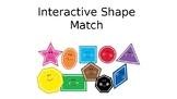 Shape Match- Digital No Prep