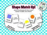 Shape Match Up Center (Memory Match!)