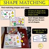 Shape Match - 2D Shapes Matching, Shape Mats and Shape Car
