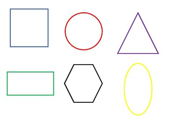 Shape Matching (Colour coded)