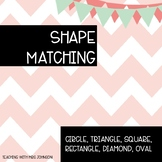 Shape Matching Activity Cards