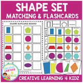 Shape Matching Board & Flashcards