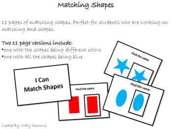 Shape Matching Books