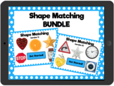 Distance Learning Shape Matching: Interactive PDFs